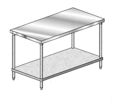 "AERO Mfg. Economy Work Table 24"" - 4TG-2460"