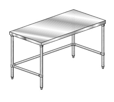 "AERO Mfg. DeluxeWork Table 36"" - 3TGX-36144"
