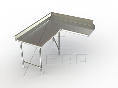 AERO Mfg. DeluxeDishtable clean - 3CDC-L-120
