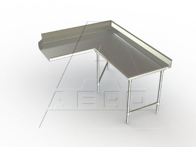 AERO Mfg. DeluxeDishtable clean - 3CDC-R-48