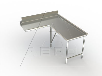 AERO Mfg. DeluxeDishtable clean - 3CDI-R-72