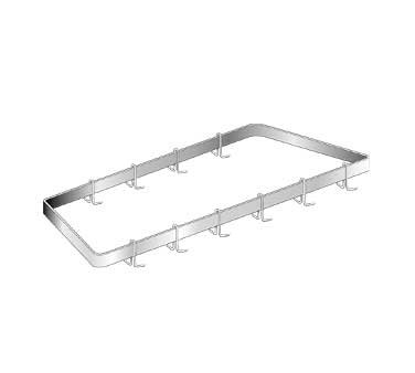 AERO Mfg. Pot Rack corner wall-mounted - CGPR-44