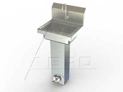 AERO Mfg. Hand Sink wall mount - HSB