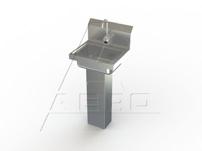 AERO Mfg. Hand Sink wall mount - HSBE