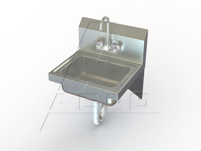 AERO Hand Sink, Wall Mount - HSD