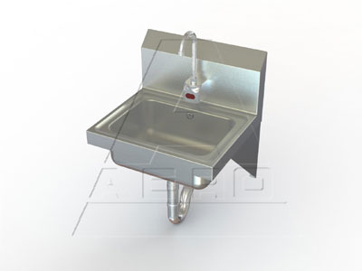 AERO Mfg. Hand Sink wall mount - HSDE
