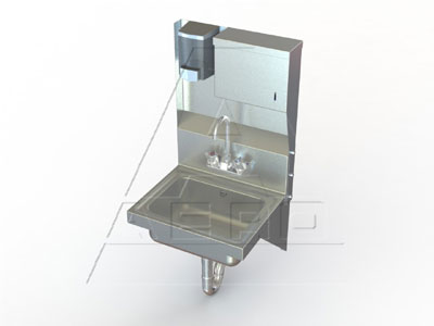 AERO Mfg. Hand Sink wall mount - XHSDT