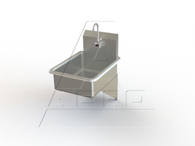 AERO Mfg. Hand Sink wall hung - LE