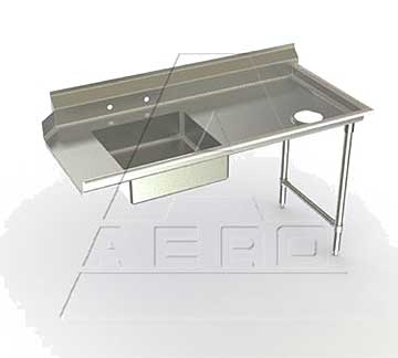 AERO Mfg. DeluxeDishtable soiled - 3SD-R-120