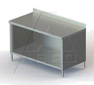 Aero Work Table open front cabinet base - 4TSBO-2460