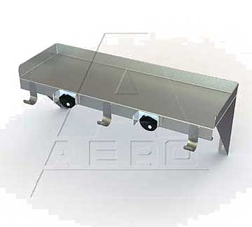 "AERO Mfg. Utility Shelf 8"" - US-824"