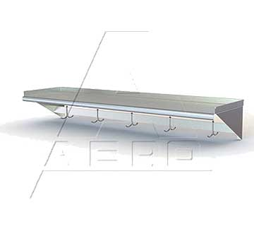 AERO Mfg. Aerospec Overshelf wall mounted - 2WSP-1260