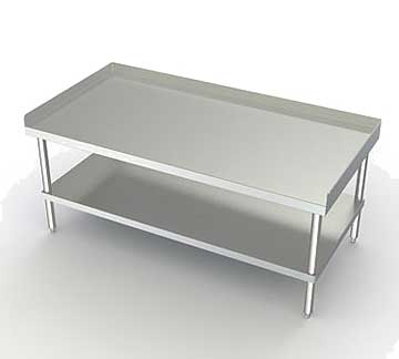 Aero Equipment Stand open base with bottom shelf - 4ES-3024