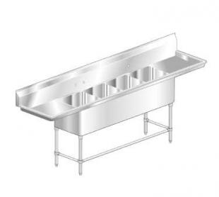 AERO Mfg. Aerospec Sink 4-bowl - 2F4-2020-36LR