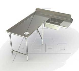 AERO Mfg. Aerospec Dishtable soiled - 2SDI-L-120