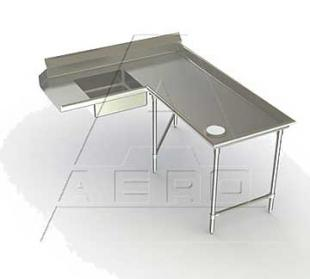 AERO Mfg. Aerospec Dishtable soiled - 2SDI-R-120