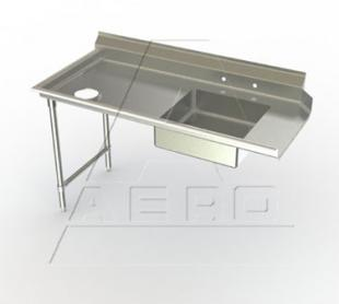 AERO Mfg. DeluxeDishtable soiled - 3SD-L-120