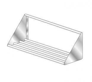 AERO Mfg. Slant Wall Shelves welded tubular design - 3STW-2182
