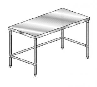 "AERO Mfg. DeluxeWork Table 36"" - 3TGX-36108"