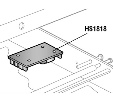 Alfa Intl. Circuit board for 022A - HS1818