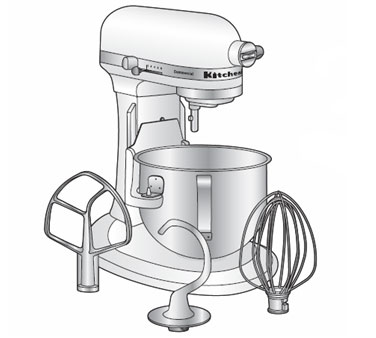 Alfa Intl. KitchenAid Mixer Electric - KP600