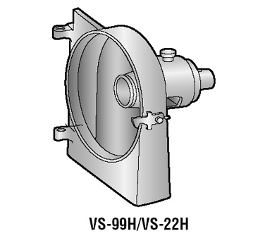 Alfa Intl. Housing (Backcase) with brass bushing and safety latch - VS-22H