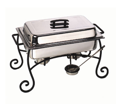 Wrought Iron Chafing Dish Frame/Stand & Cup Only - CF1