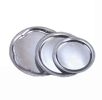 Affordable Elegance Chrome Serving Trays