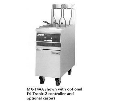 ANETS GoldenFry® Fryer gas s/s fry pot front & sides  - #MX14AA