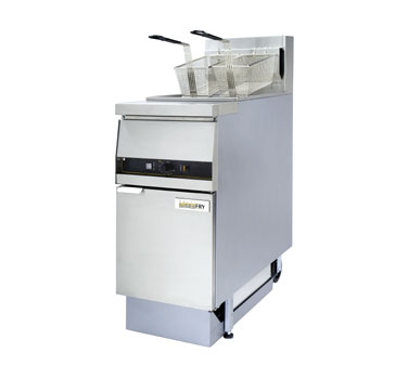 ANETS GoldenFry® Fryer w/Built in Filter gas s/s frypot front & sides cross-fire burners  - #MX14ESFF