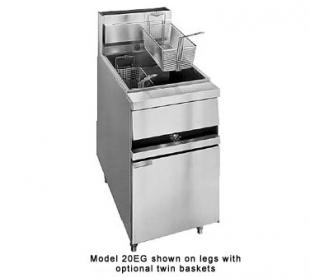 ANETS GoldenFry® Chicken Fryer 100 - 120 lb. tube burners  - #20EG