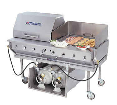 "Bakers Pride Charbroiler 60"" - CBBQ-60S-P"
