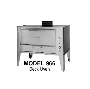 "Blodgett Oven deck-type gas 42"" - 966 BASE"