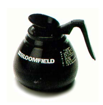 Bloomfield Glass Coffee Decanters, Case of 24 - REG8900BL24