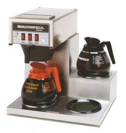 Bloomfield Koffee King Coffee Brewer With 3 Warmers - 8571-D3