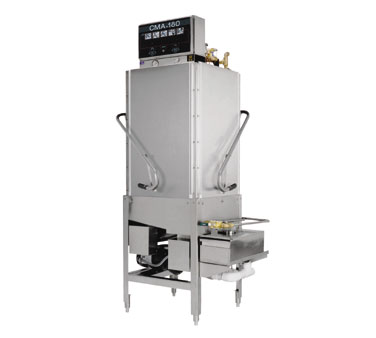 CMA Dishmachines Pot And Pan Dishwasher, Door Type, Corner Design With Booster Heater  - CMA-180TCB