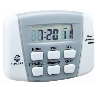 Comark Timer With Clock - UTL882