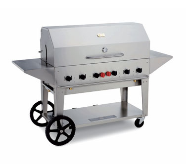 Crown Verity Portable Grill / Outdoor Charbroiler, 48 Inches - MCB-48