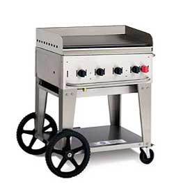 Crown Verity MG-30 Commercial Outdoor Griddle MG-30, 38 Inch, 4 Burners