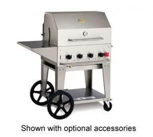 Crown Verity Portable BBQ Grill / Charbroiler Lp Gas - #MCB-30 PKG-LP