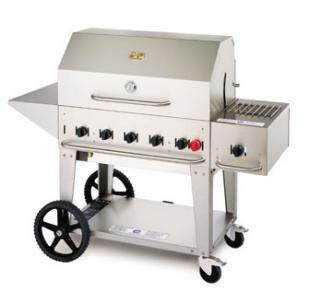 Crown Verity Portable Outdoor Charbroiler & Grill - MCB-36LP