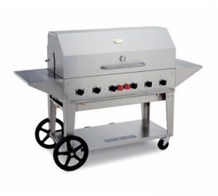 Crown Verity Portable Grill / Outdoor Charbroiler, 48 Inches, Lp Gas - MCB-48LP