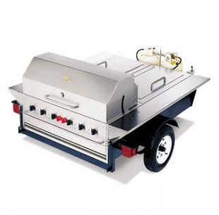 Crown Verity Towable Grill - The Tailgate - TG-1