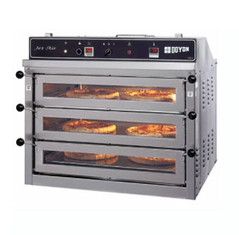 Best Commercial Countertop Pizza Oven : Doyon Jet Air Counter Top Pizza Oven - PIZ3G