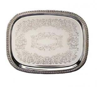 "Eastern Scroll Tray 18-1/2"" x 14"" - 4260"