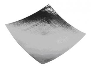 "Eastern Tray hammered 18/10 stainless steel 18"" - 5318H"