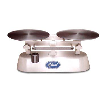 Edlund Bakers Dough Scale - 8 lbs x 1/4 oz graduation with scoop epoxy BDS-8