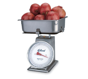 Edlund Scale Receiving 50 lb x 2 oz graduation produce  - #HD-50P