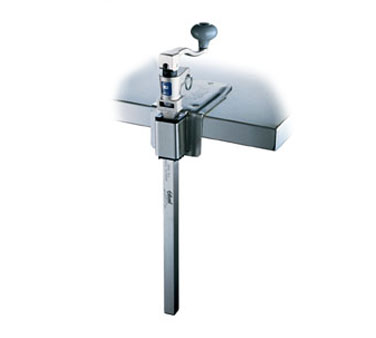 Edlund Can Opener Manual with standard length bar and stainless steel base  - #G-2S