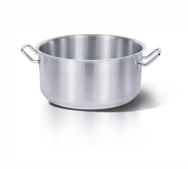 Eurodib USA Homichef Induction Saute Pan Brazier with Handles 40.2 qt. - HOM455020